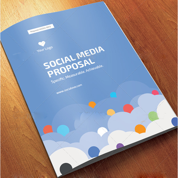 Social Media Proposal – Best Proposal Templates