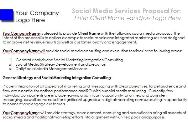 social media proposal template download 09